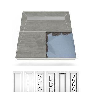 duschelement befliesbare ablaufrinne edelstahl bodeneben duschboard bodenablauf ebay. Black Bedroom Furniture Sets. Home Design Ideas