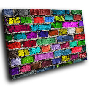 ZAB296 Colourful High Heel Modern Canvas Abstract Home Wall Art Picture Prints