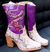 R Soles Cowboy Boots Size 35 Uk2 By Judy Rothschild Festival Party
