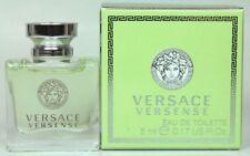 Versace Versense 0.17 oz/5 ml Edt Splash Mini For Women New In Box