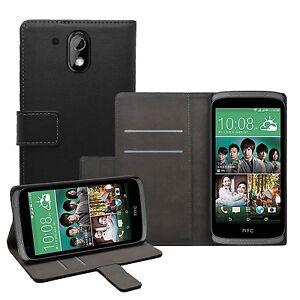 WALLET-Flip-Case-Cover-Pouch-SAVER-PER-TELEFONO-CELLULARE-HTC-DESIRE-526G-DUAL
