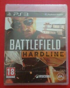 Battlefield Hardline ps3 Spiel Neu & Versiegelt UK Playstation 3 schneller kostenloser Versand