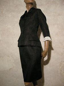 Vintage 50s Dress Jean Haute Suit Couture 36 Vtg Jacket 1950 Hercey Rare 38 YWqzzcOwZX