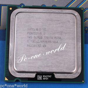 100-OK-Intel-Pentium-D-945-SL9QQ-SL9QB-3-4-GHz-Dual-Core-Processor-CPU