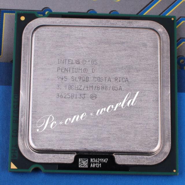 Phenomenal Intel Pentium D 945 3 4Ghz Dual Core Hh80553Pg0964Mn Processor Unemploymentrelief Wooden Chair Designs For Living Room Unemploymentrelieforg
