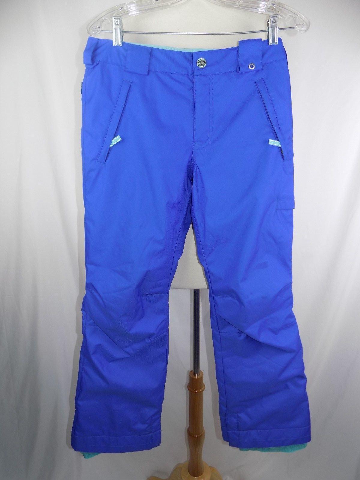 Burton Lined DryRide Ski SnowBoard blueE Pants Youth XL 30 x 29
