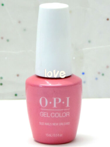 OPI GelColor New Gel Nail Polish SoakOff N53 Suzi Nails New Orleans