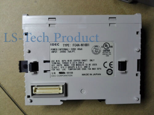 New IDEC PLC FC4A-N16B1 1 year warrenty
