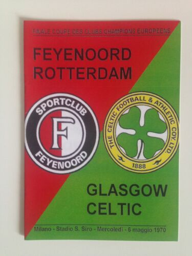 1970 European Cup Final Programme Feyenoord vs Celtic UEFA issue 2005