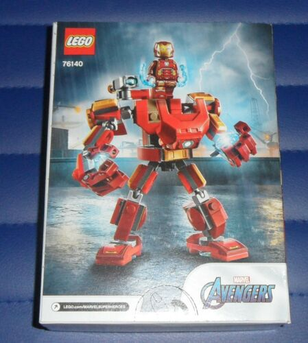 76140 Lego Marvel Avengers Classic Iron Man Mech Building Set