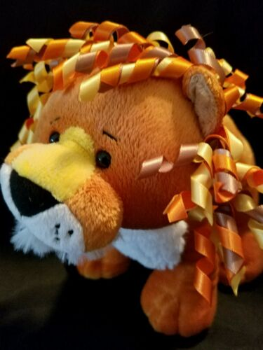 Webkinz PLUSH ONLY:   CURLY LION  - JUST THE PLUSH !!!!!!
