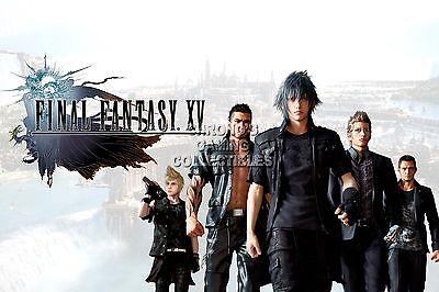 RGC Huge Poster EXT772 Final Fantasy XV Noctis Crew PS4 XBOX ONE