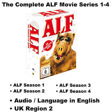 The Complete ALF Movie Series 1-4 DVD Box Set Seasons 1 2 3 4  Max Wright R2 UK