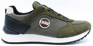COLMAR Sneaker Uomo Verde Travis DRILL15