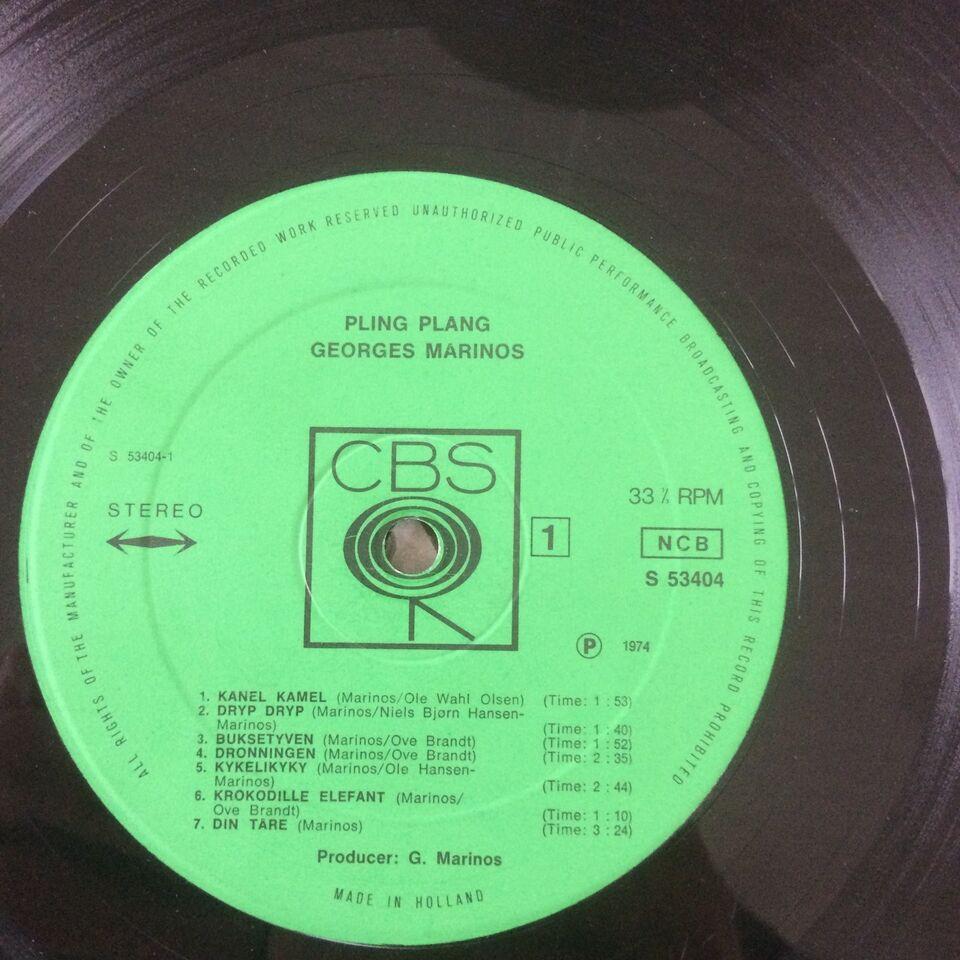 LP, Georges Marinos, Pling Plang