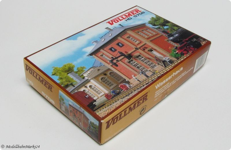 VOLLMER 5708 Wasserhaus Bausatz H0 1 87 87 87 24d4c2