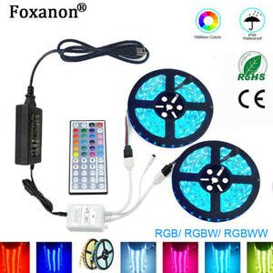5050-RGB-LED-Tira-Luces-Iluminacion-de-Cocina-de-cinta-de-cambio-de-color-1M-2M-3M-5M-10M