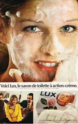Collectibles Frugal L Publicité Advertising 1970 Le Savon De Toilette Lux Relieving Heat And Sunstroke