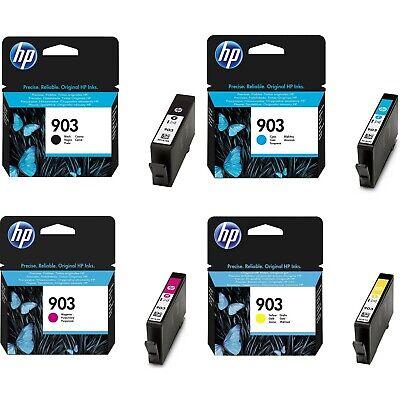 4 Cartucce Originali Hp 903 Per Officejet 6900 Series 6950 Pro 6868 6860 Series