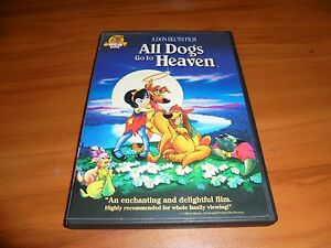 All Dogs Go To Heaven Dvd 2003 Full Frame Animated Used Ebay