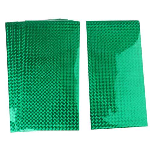 5 Stücke Reflektierende Holographische Prisma Band DIY Fischköder Tape