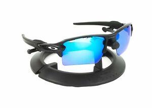 OAKLEY FLAK 2.0 XL MATTE BLACK FRAME   REVANT ICE BLUE POLARIZED ... fed8840211