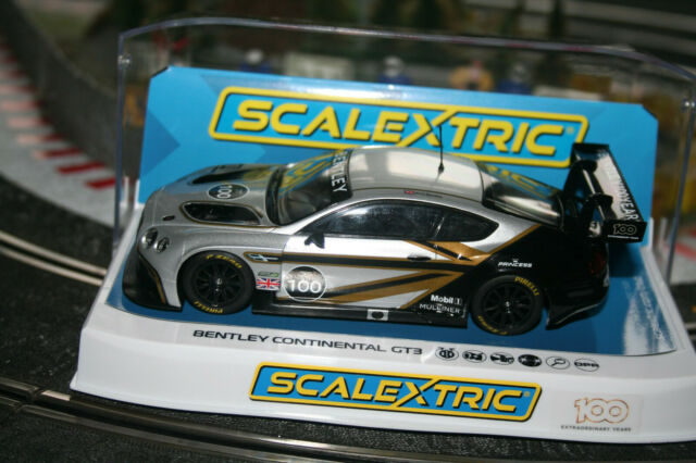 Scalextric 1:32 Bentley Continental GT3 Centen. Sonderedition Artikelnr. C4057A