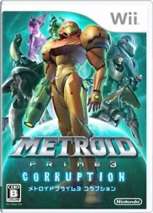 Metroid Prime 3: Corruption Wii Japan Version