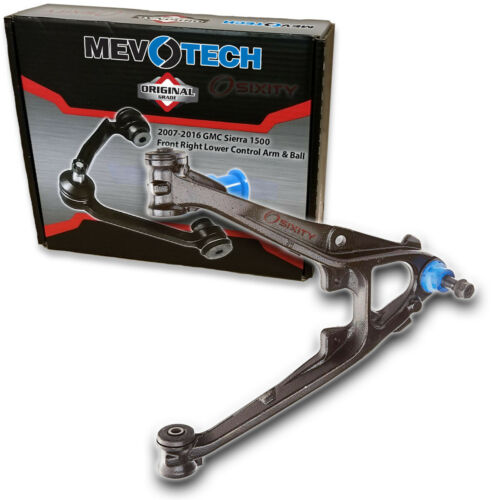 Mevotech Front Right Lower Control Arm /& Ball Joint for 2007-2016 GMC Sierra ht