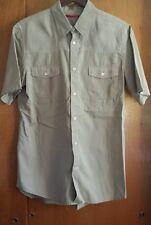Prada Men's Short Sleeve Button Shirt Size 43