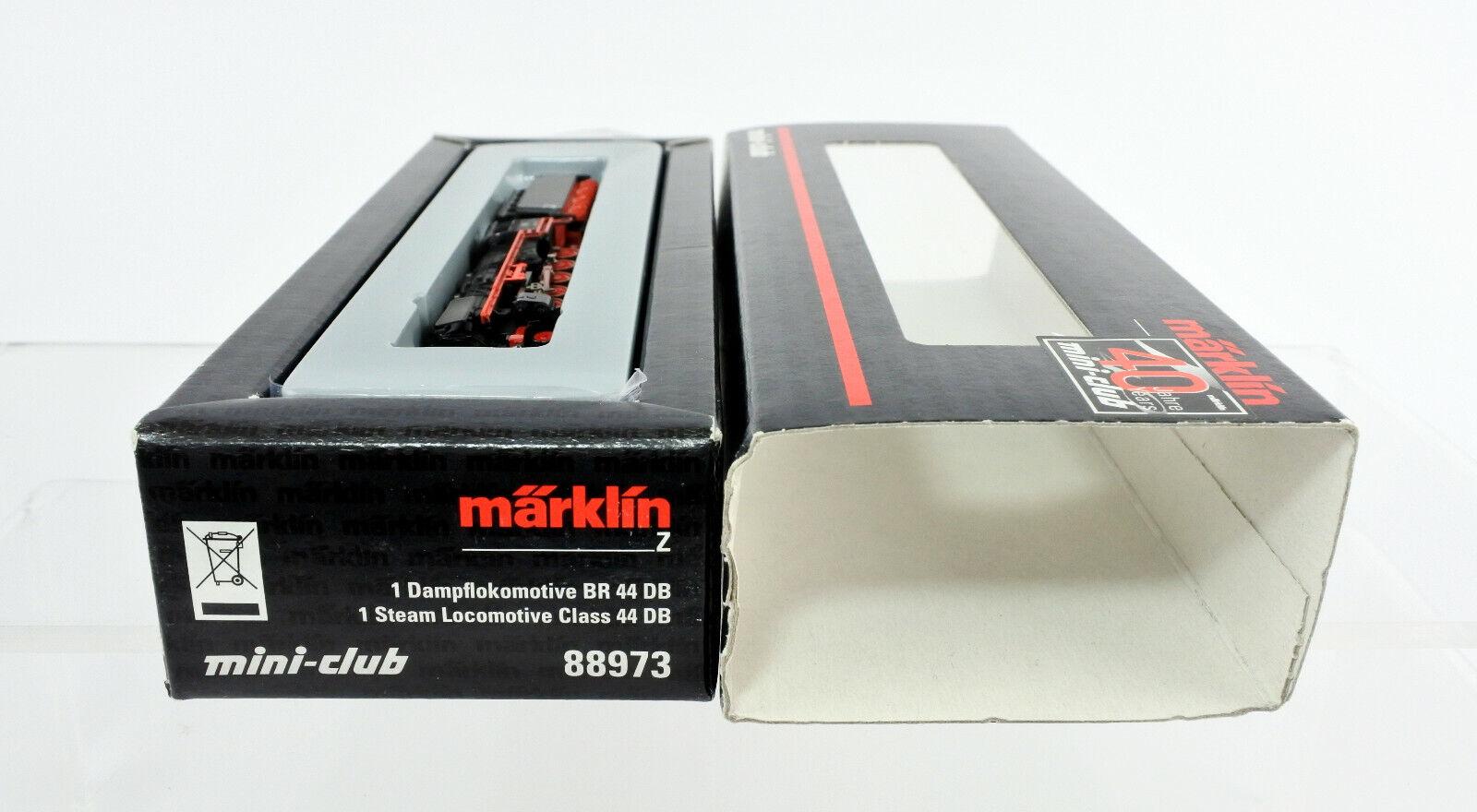 MARKLIN SCALA Z 88973 DRAGONBtutti Marronee 44 2100 Motore A Vapore & TENDER  44 1374
