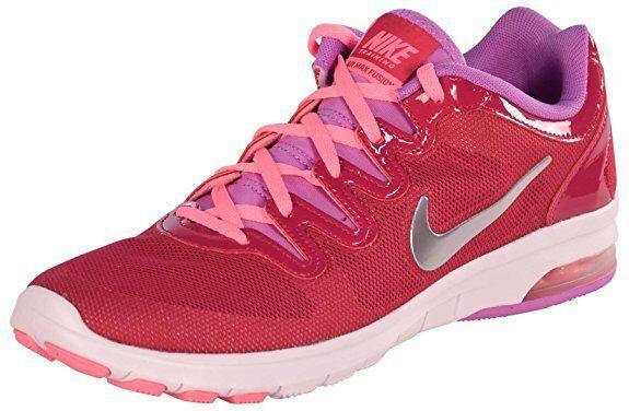 Nike Women's Air Max Fusion Running Shoes-Fuschia-8.5 …
