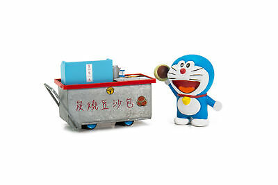 TINY Diecast Animation Int 1//35 Doraemon Dorayaki Cartful with figure