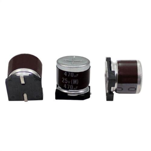 10x SMD Elko Capacitor 470µf 25v 105 ° C; rvz-25v471mha5u-r2; 470uf