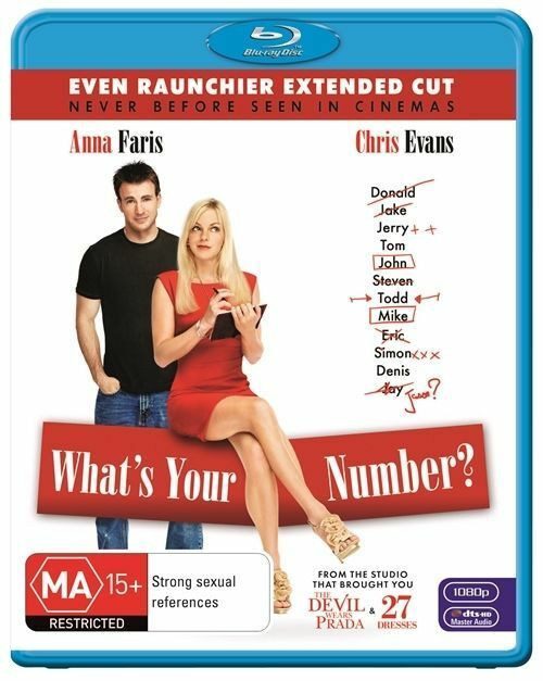 What's Your Number? (Blu-ray, 2012) Like New - Free Postage