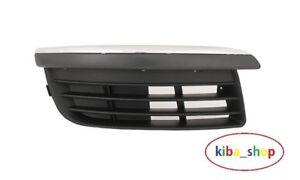 VW-Golf-V-Jetta-MK5-04-11-Pare-chocs-avant-inferieur-Grill-Grilles-CHROME-sourcils-droite