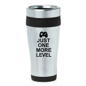 Games Level Just Oz Details About Travel Gamer Video Coffee One More Mug 16 fyb6Yg7