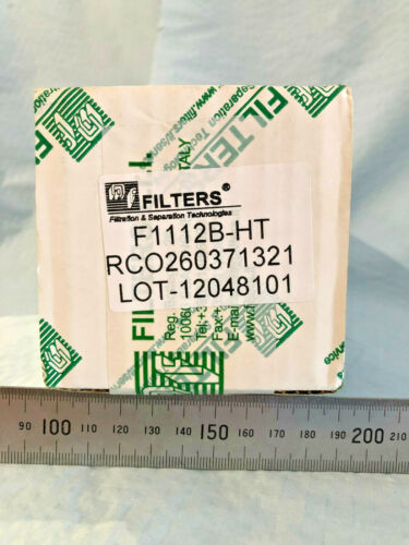 MF Filters F1112B-HT Oil Filter Made in Italy