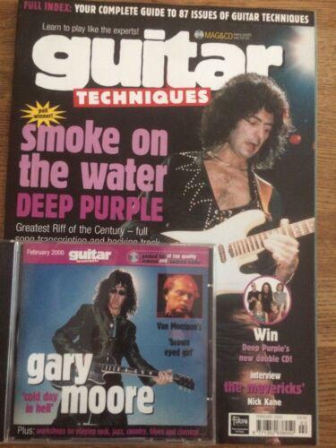 February 2000 Guitar Techniques magazine /& CD