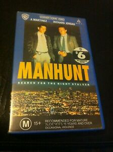 Manhunt search hunt for the night stalker VHS Richard ...