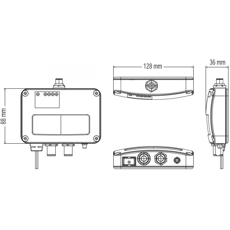 AMEC CYPHO-150S Ricevitore AIS Marine con Displexer VHF Doppio Canale