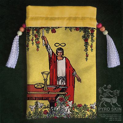 """""""The Magician"""" - silk Tarot bag"""