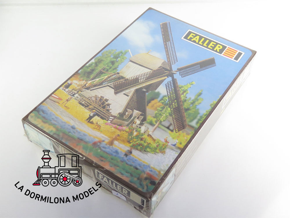 Ed b-231 Faller h0 scale kit windmill with motor-new