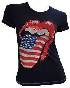 Rolling Usa Stones Linguaccia Ultimate Rock Star Strass Amplified Official 6qfPwxzT