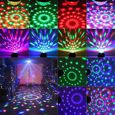 RGB Magic Crystal Ball Laser Stage Lighting LED Light Party Disco DJ Xmas Club