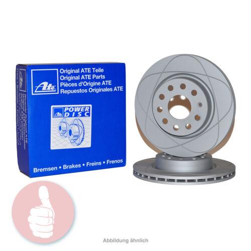 ATE Power Disc Bremsscheiben 321mm belüftet Vorderachse für Audi