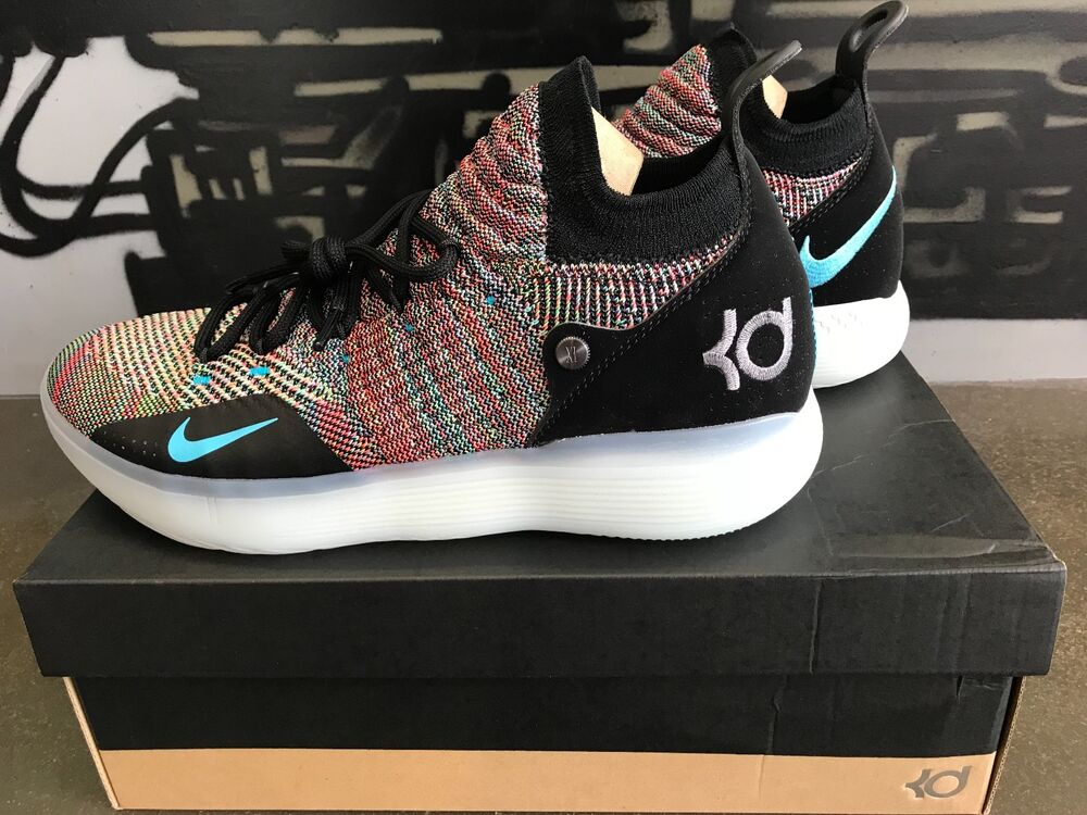 Nike Zoom KD 11 Multicolor AO2604-001 Kevin Kevin Kevin Durant homme Basketball chaussures NIB 8de130
