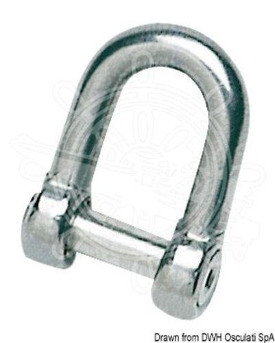 Osculati Ankerschäkel AISI 316 8 mm