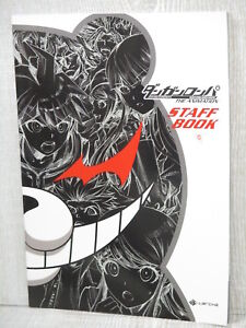 DANGANRONPA-Art-Works-ANIMATION-STAFF-BOOK-Japan-Fan-Book-Ltd-Booklet