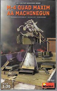 MiniArt-M-4-Quad-Maxim-AA-Machine-Gun-in-1-35-211-ST